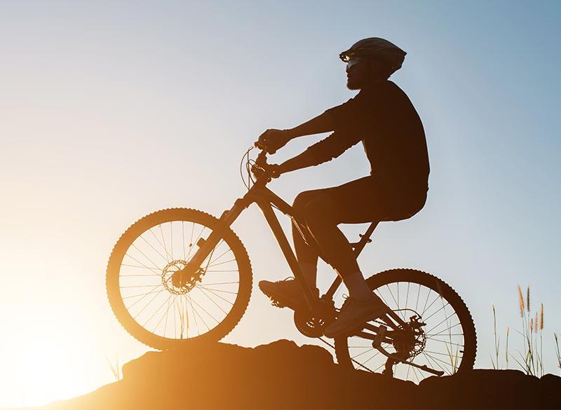 Bike trails in Tuscany